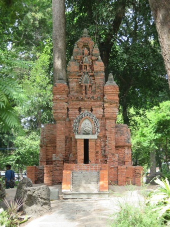 Scaled down Cham Temple