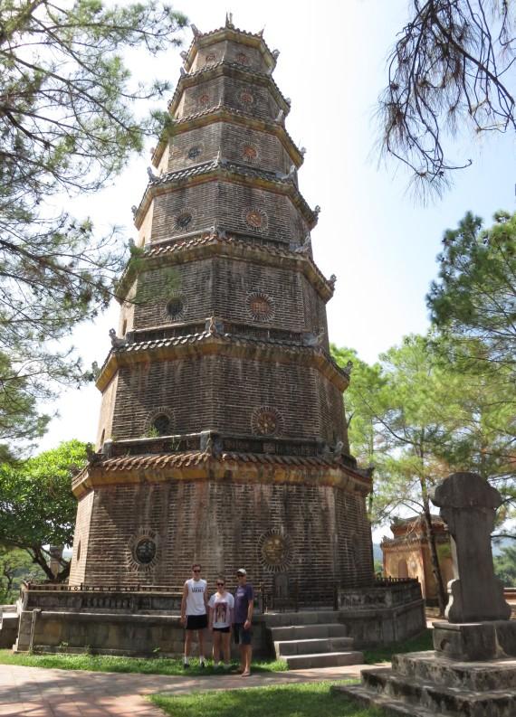 Thien Mu Pagoda - 7 storeys for 7 gods