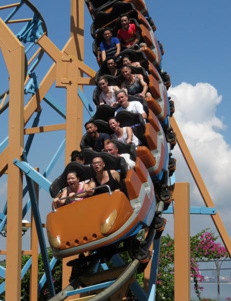 VP island rollercoaster