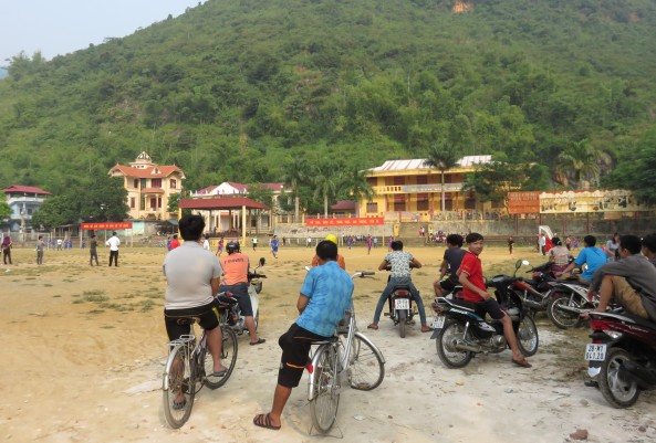 Mai Chau - kids' soccer tournament