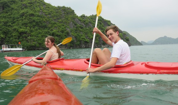 canoeing is harder than it looks