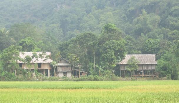 vilage near Mai Chau