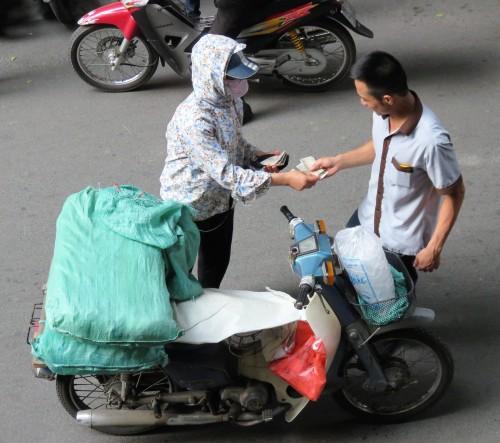 the ice vendor