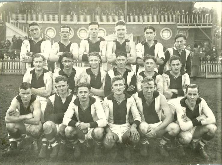 1939 subsequent blog Preston team photo