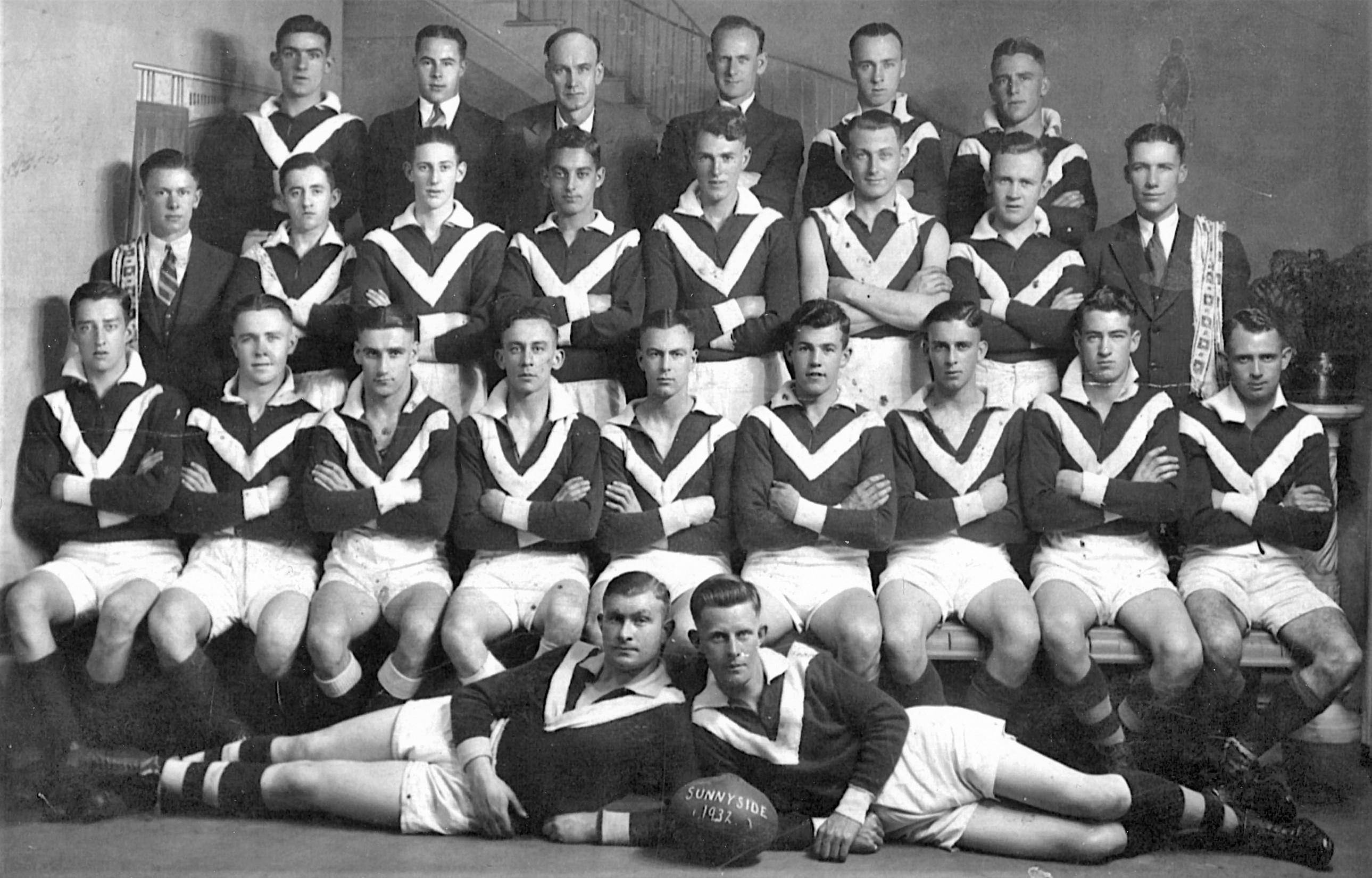 Sunnyside Football Club_1932 blog photo